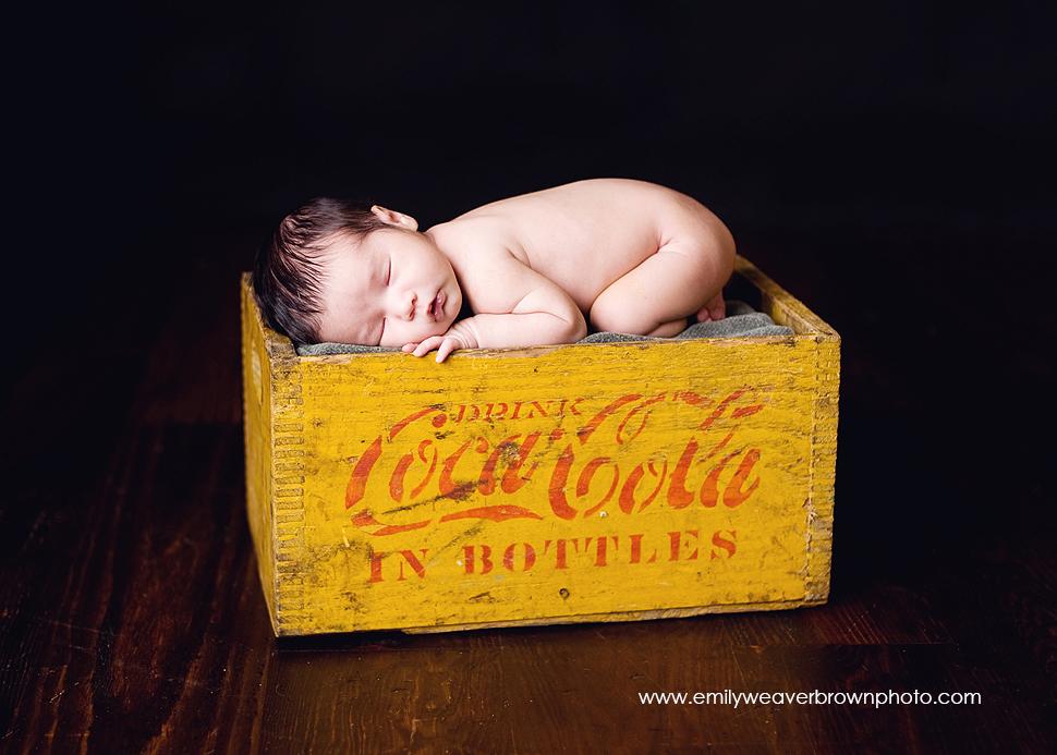 Drink Coke in bottles! | Seattle newborn photographer