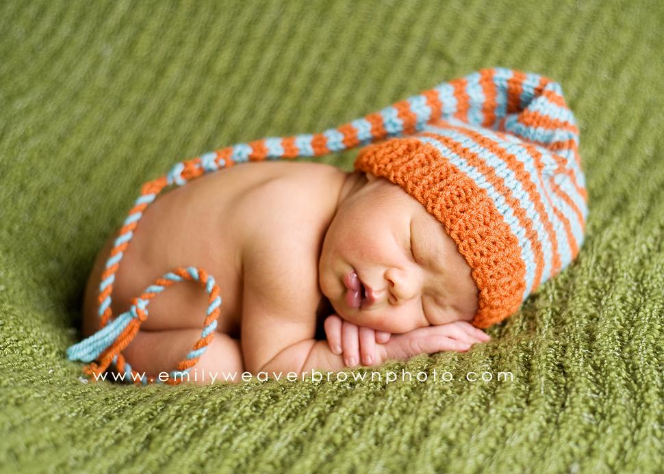 a handsome fellow {Seattle Newborn photographer}