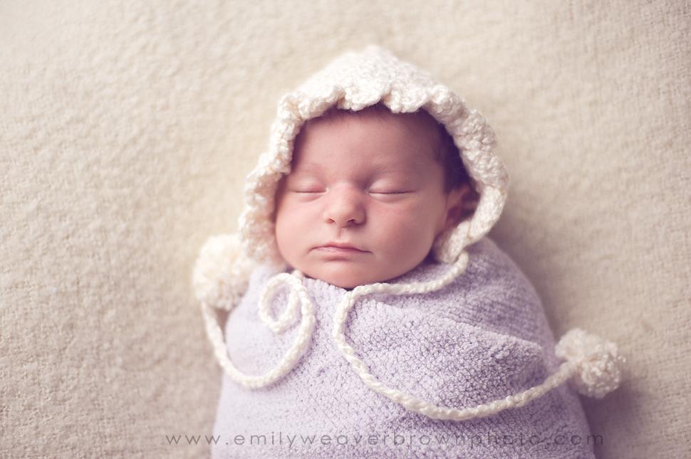 Another beautiful little girl {Seattle Newborn Photographer}