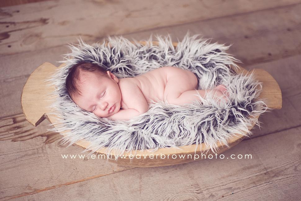 a sweet little cherub! {Seattle Newborn Photographers}