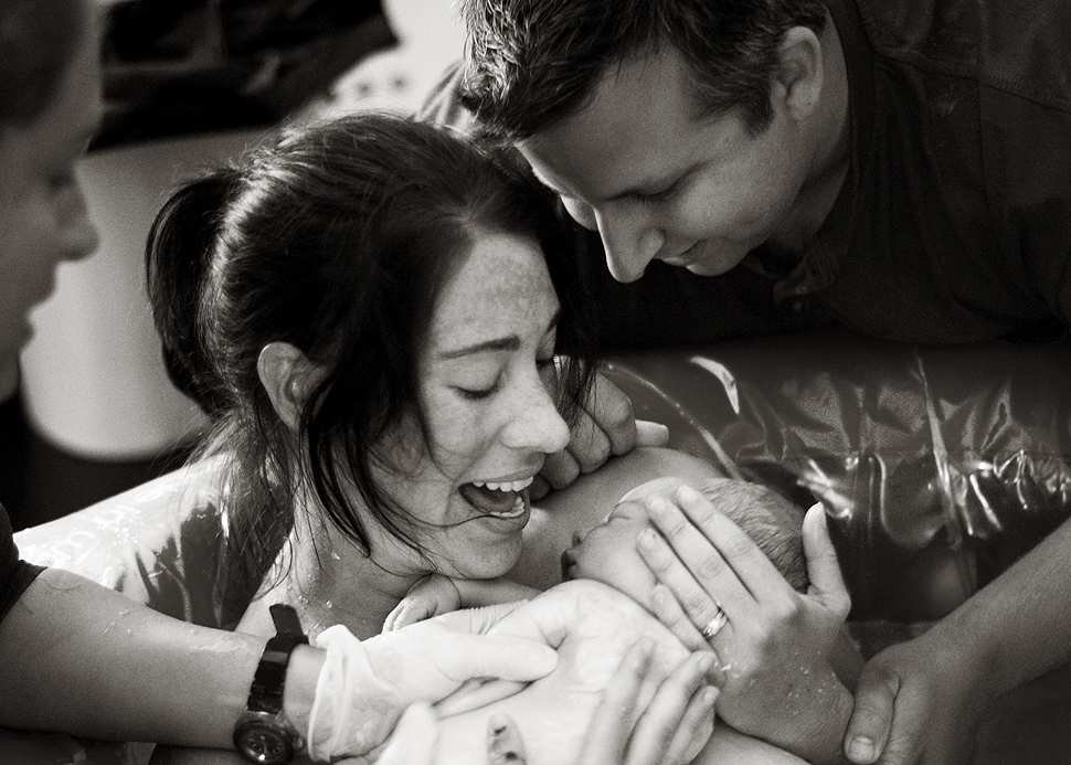 Home Birth {Seattle Birth Photographer}
