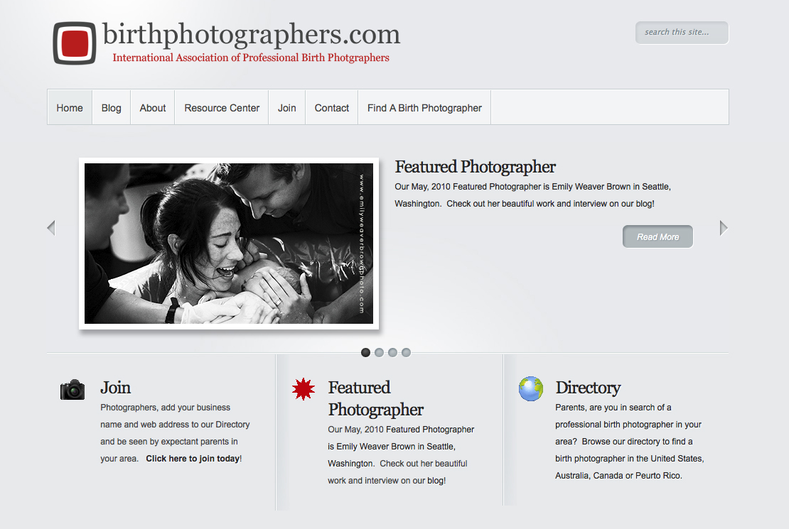 Proud Member of the International Association of Professional Birth Photographers!