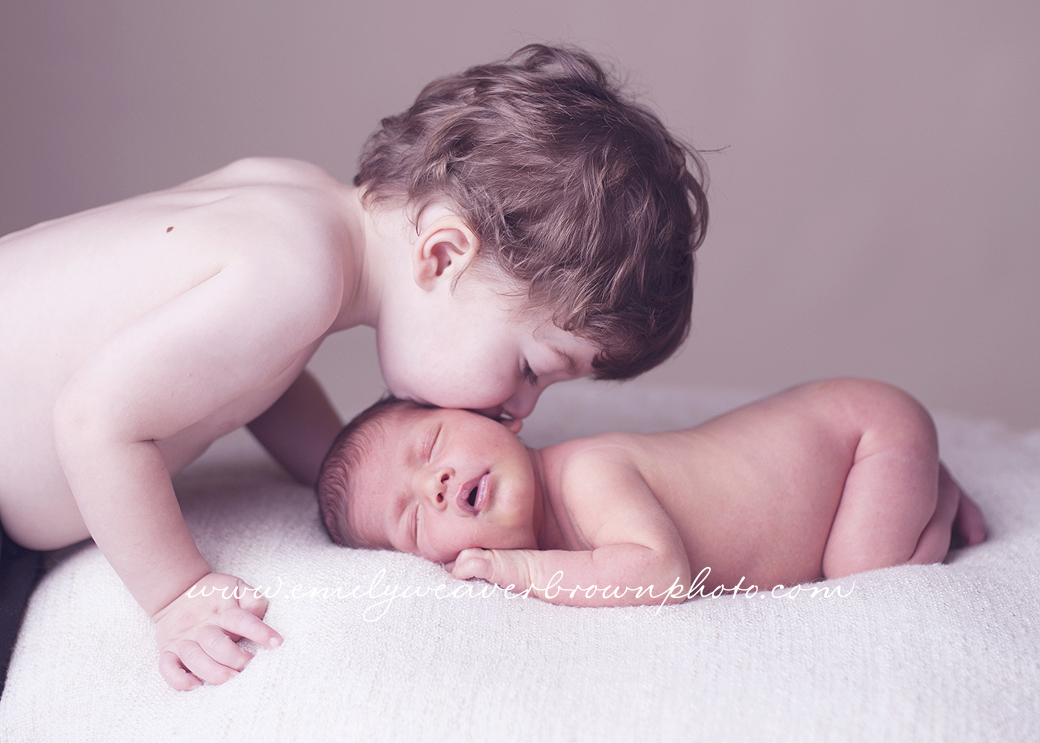 Proud Big Brother – Seattle Newborn Photographer