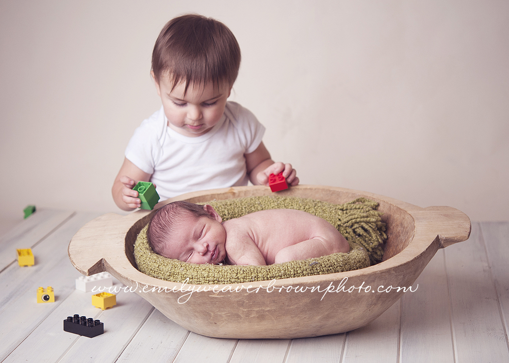 When will you be old enough to play with me? Seattle Newborn Photography