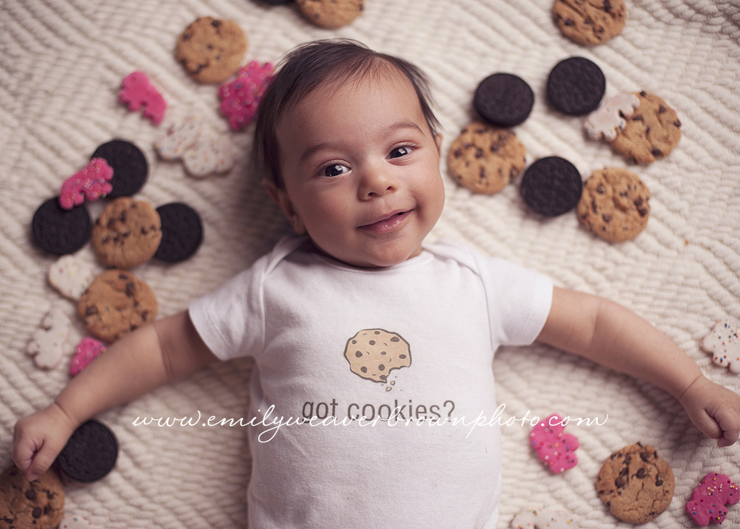 Got Cookies?! – Seattle Baby Photographer